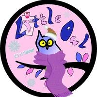 Логотип Little Owl - товары Япония/Корея.