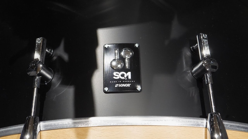Aaron Holler - Sonor SQ1 - Aquarian Response 2 Coated vs. Clear DEMO