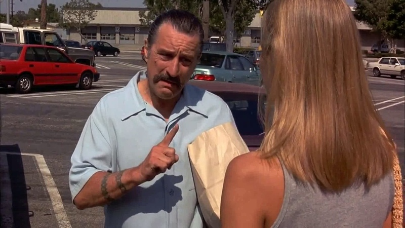 Don't say one fuckin' word Jackie Brown