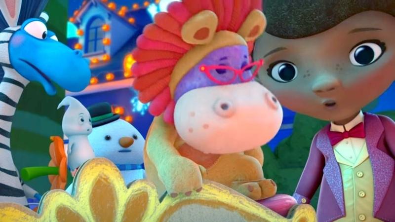 Доктор Плюшева Серия 11 Сезон 3 самые лучшие мультфильмы Disney для детей