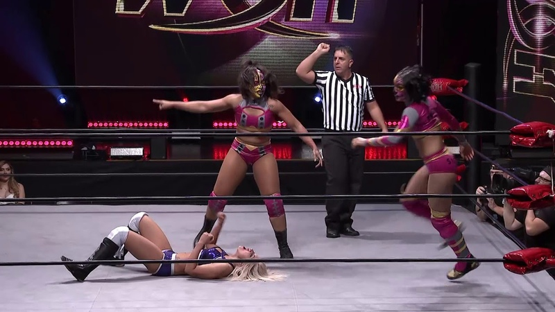 Twisted Sisterz vs Samantha Heights Ray Lyn