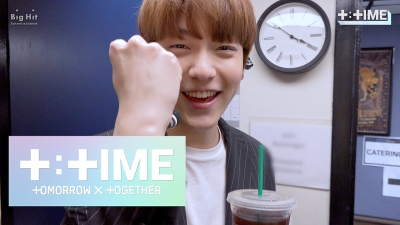 [TTIME] SOOBIN learns how to enjoy Americano - TXT (투모로우바이투게더)