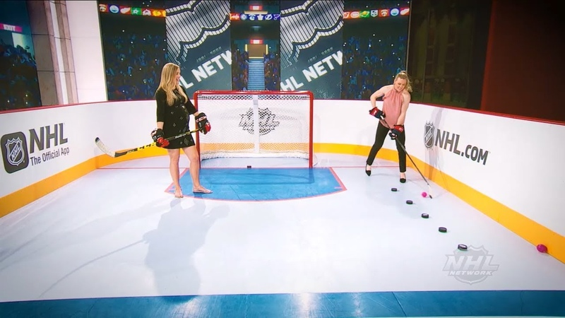 NHL Network breaks down McDavid and more as Coyne Schofield demonstrates stickhandling drills