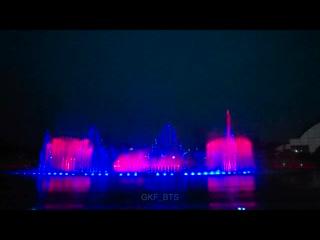 190614 bts x busan fountain show
