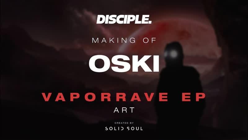 Oski VaporRave EP Cover Art Speedpainting