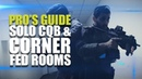 Pro's guide to CQB Solo CQB Corner fed rooms
