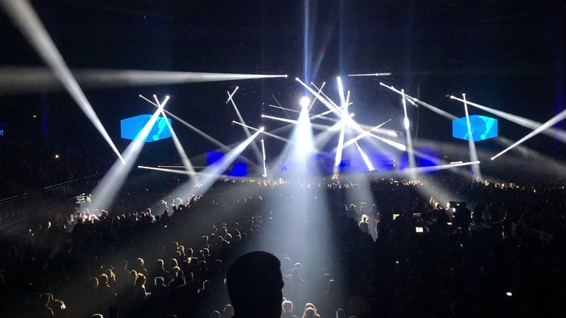 PRODIGY LIVERPOOL 08.11. 2018 ENTRANCE IPHONE X LIVE INTRO