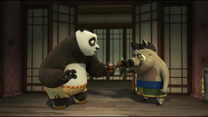Мультфильм Кунг фу Панда: Удивительные легенда 17 серия HD