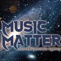 """Логотип Рок Магазин-""""MUSIC MATTER"""""""
