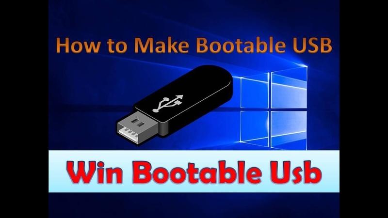 How to Make A Windows 10 Bootable USB Flash Drive