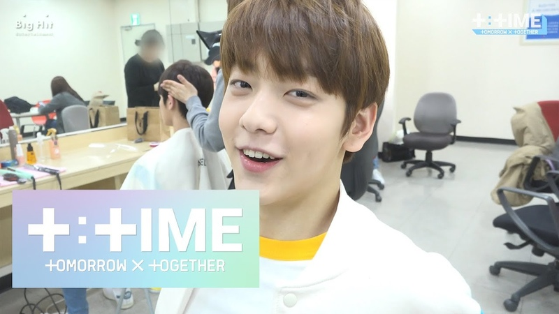 [T:TIME] SOOBIN's How to keep your face from getting puffy - TXT (투모로우바이투게더)