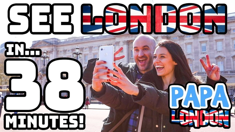 Fastest Sightseeing Tour! - See London in 38 MINUTES! | Papa London