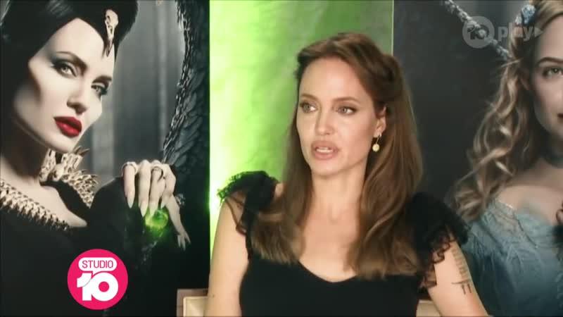 Exclusive_ Angelina Jolie Talks Maleficent_ Mistress Of Evil _ Studio 10