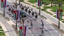 Президент Путин в Абу-Даби. По пути истребители ОАЭ раскрасили небо цветами флага России! Лидер ядерной державы едет!