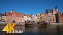 4K Gdansk, Poland - Cities of the World | Urban Life Documentary Film