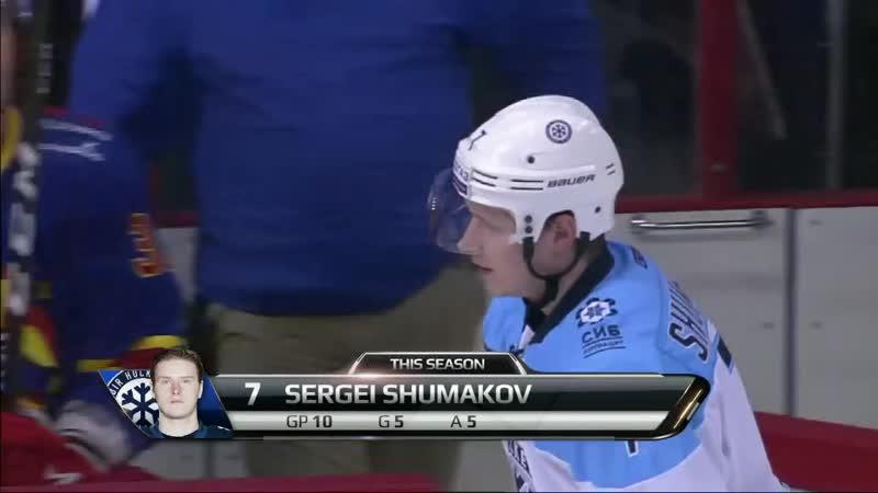 Shalunov sets Shumakov up for weird a goal (1)
