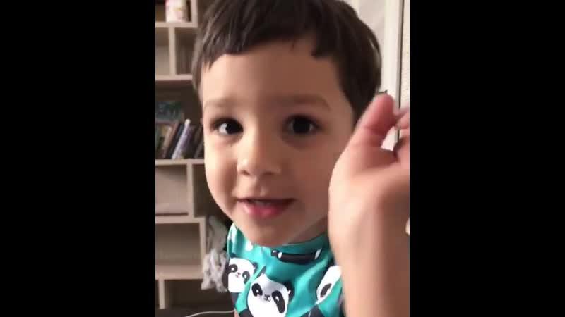 Сынок поздравляет Гобозова с днём ВДВ Мимими