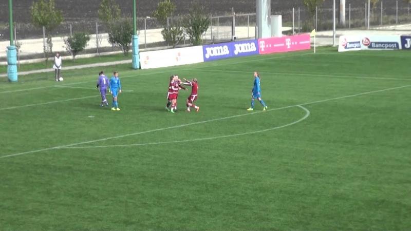 Словакия - Россия. 1-й отборочный раунд женского ЧЕ-2016 U-17