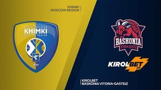 Khimki Moscow region- KIROLBET Baskonia Vitoria-Gasteiz Highlights    EuroLeague, RS Round 2. Евролига. Обзор. Химки - Баскония