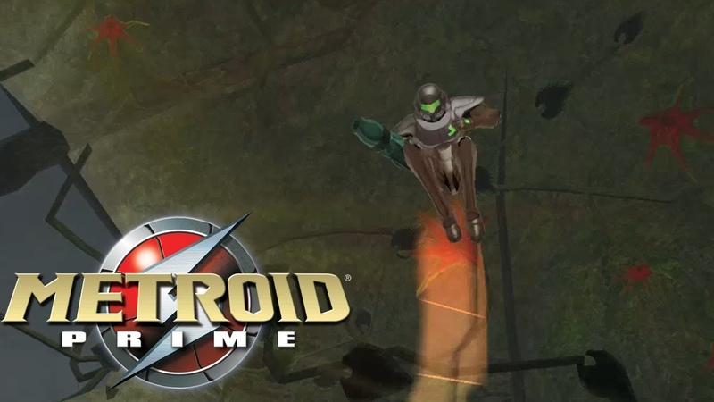 Metroid Prime - Первым делом Прыжок в Космос Space Jump First
