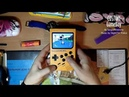 Custom RaspberryPi Gameboy Yellow with 3A