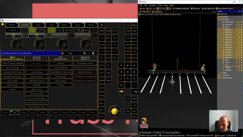 MA2 Bits - Making Truss Move (Showfile inside)