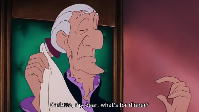 Carlotta, my dear, what's for dinner?