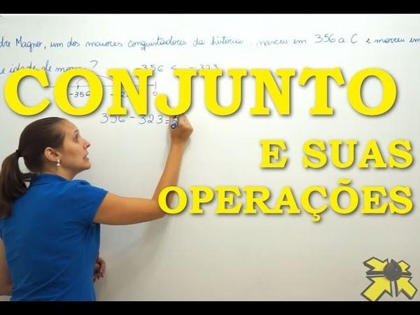 PENSI Matemática Conjunto e suas operações