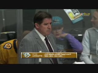 NHL 2018-2019 / RS /  / Nashville Predators vs San Jose Sharks