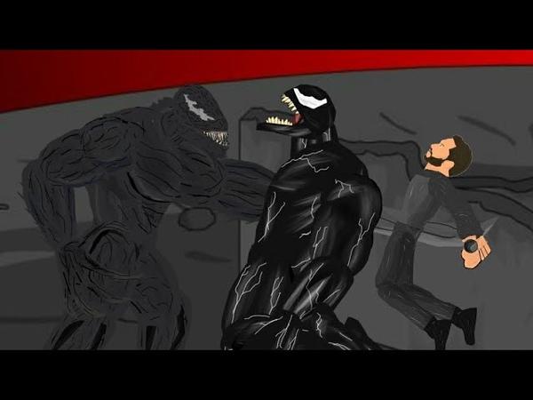 Веном против Райота 2: Реванш! ( Рисуем мультфильмы 2 )
