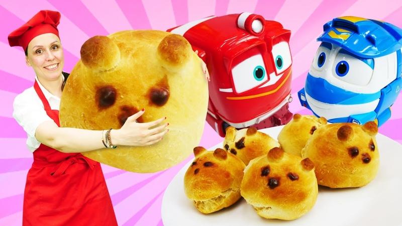 Ositos de pan. Recetas fáciles. Cocina para niños
