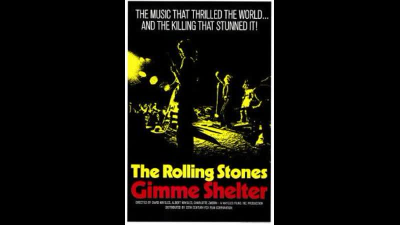 The Rolling Stones - Gimme Shelter (Altamont Free Concer 1969)