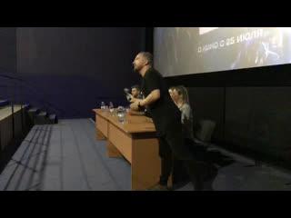 Пресс-конференция в рамках предпоказа фильма Робот 2.0 с актерами Никитой Джигурдой, Полиной Гренц