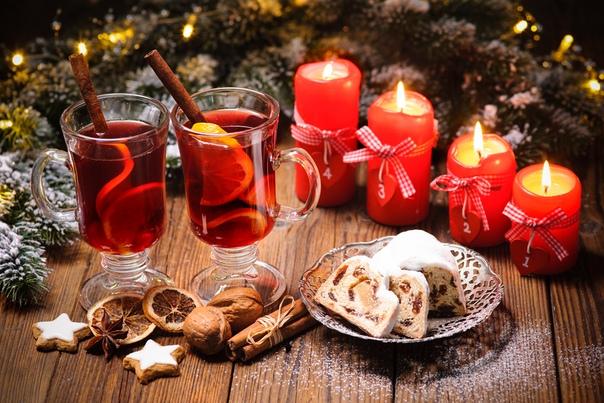 Новогоднее Чаепитие Обои