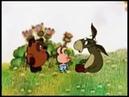 Пятачок на день рождении с осликом и Винни Пухом, прикольная озвучка