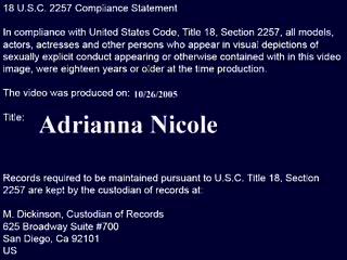 Mrs. Adrianna Nicole / My First Sex Teacher / Naughty America