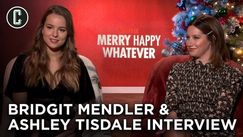 Merry Happy Whatever Ashley Tisdale Bridgit Mendler Interview