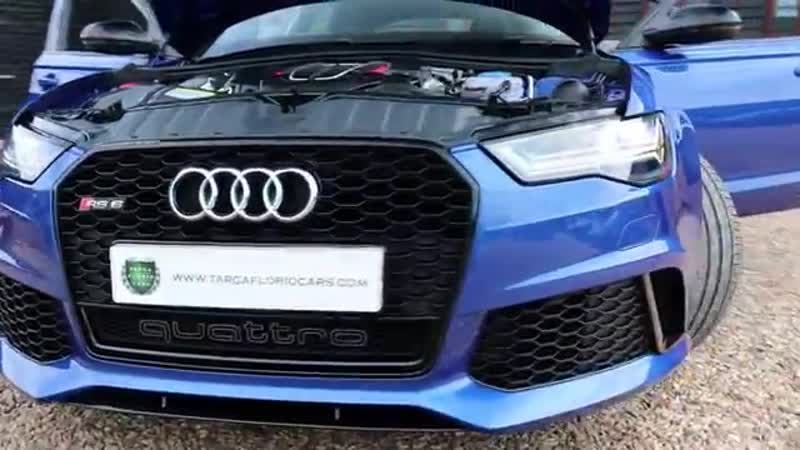 Audi RS6 Avant 4 0 TFSI V8 Quattro 560PS Tiptronic Automatic in Sepang Blue 2015