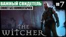 Глава II: Важный свидетель ● The Witcher 7 ❖ Сюжетное прохождение без комментариев