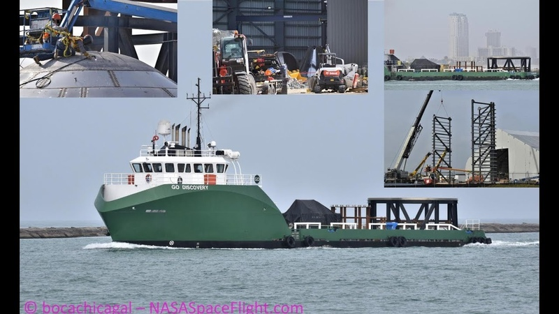 SpaceX Boca Chica GO Discovery arrives with Starship Hardware Worksite Expanding