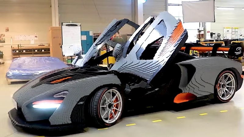 LEGO McLaren Senna FULL SCALE Build