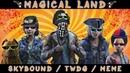 Skybound TWDG Magical land humor meme