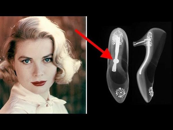 Вот что показал рентгеновский снимок свадебных туфель Грейс Келли