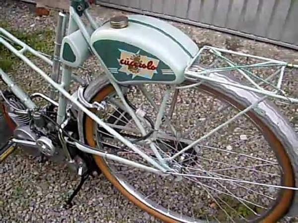 Hilfsmotor Ducati Cucciolo Siata T1 48 cm³ Baujahr 1946