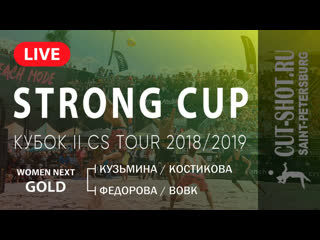 WOMEN NEXT GOLD - STRONG CUP