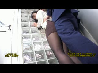 Sw-458 -  dressed in a black pantyhose office ladies in a crowded commuter bus.part1.720p