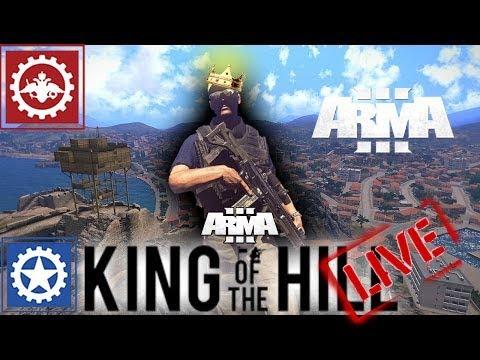 🔴 ➤➤ARMA 3 KING OF THE HILL➤➤ ➤RHS➤ ➤KOTH-RHSHARDCORE SERVER EU3➤Стримчанский Live🔴(13.10)