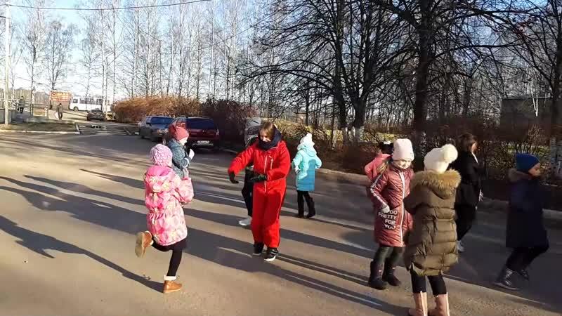Кадрильный флешмоб Лесная Поляна