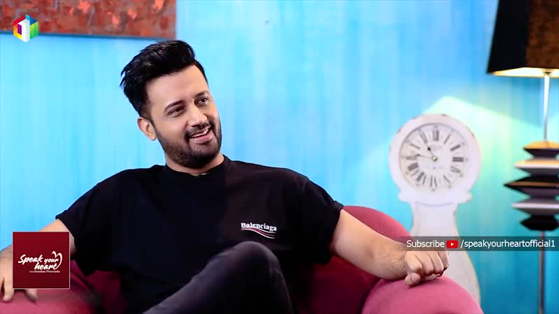 Atif Aslam In Once In A Lifetime Interview Speak Your Heart With Samina Peerzada