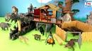 Schleich WildLife Crocodile Jungle Research Playset Plus Animal Toys